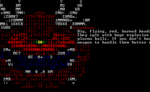 DRL Free Game - ASCII Screenshot